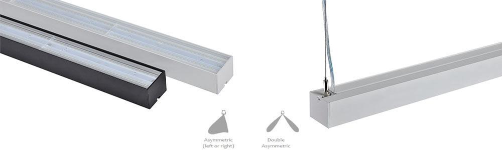 Linear light for supermarket aisle  - Linear light for supermarket aisle