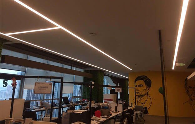 seamless modern linear light 624x398 - Office Linear Light