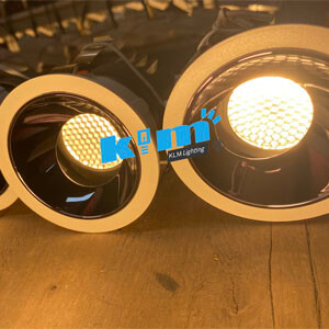 adjustable Honeycomb Anti Glare LED Downlights manufacture China supplier - Round & Square Wall Washer Hotel Downlights
