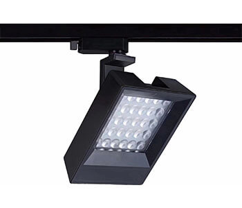 museum track light with square type - 30W Square LED Track Light