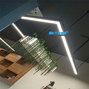 AliExpress Suspended LED Office lighting - Suspended LED Rectangle Linear light fitting