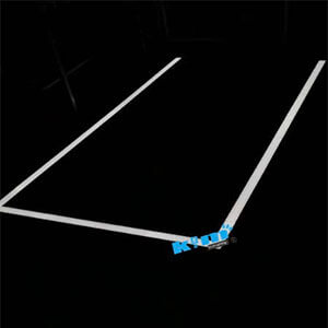 LED Linear Suspended Pendant Light Fixture – Commercial for Architectural Office Lighting - Suspended LED Rectangle Linear light fitting