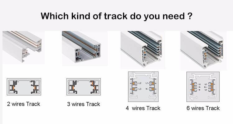 choose track bar details - Track Light Accessories