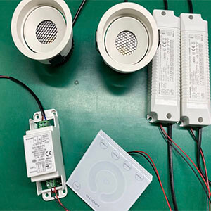 2700 6500k Changeable LED Downlight with Dali Driver - Changeable LED Downlight 2700-6500K