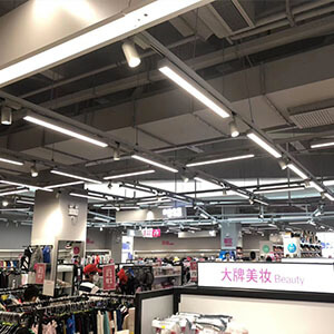 LED Linear Track Lighting for supermarket - LED Linear light with track adapter