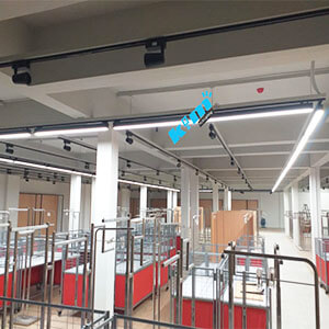 led linear light with track adptor for a department Store - LED Linear light with track adapter