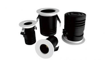Kabin Dekorasyonu için Gömme Mini Spot Işıklı LED Sıva Altı 367x210 - Ev