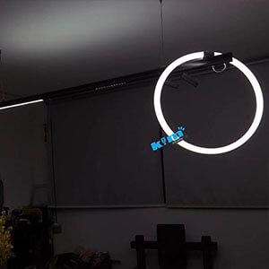 round 360 degree luminous decorative lighting
