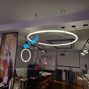 suspended 24v 360degree lighting