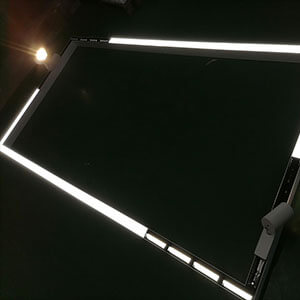 track light with linear lighting system - Combination Linear lighting system