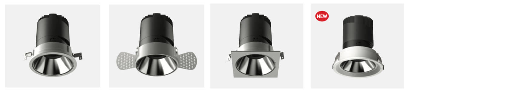30w hotel ledspotlight recessed - Led Spotlight Recessed with 6 colors reflector