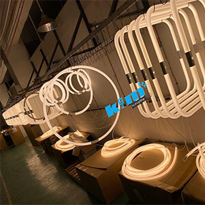 360degree linear light ALPHABET OF LIGHT - 360degree PMMA lighting tube