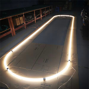 360degree linear lighting - 360degree PMMA lighting tube