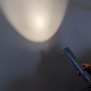 Chrome Mini LED Pendant Light - Modern LED Cylindrical pendant light