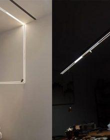 magnetic lighting system China supplier 48v 24v DALI