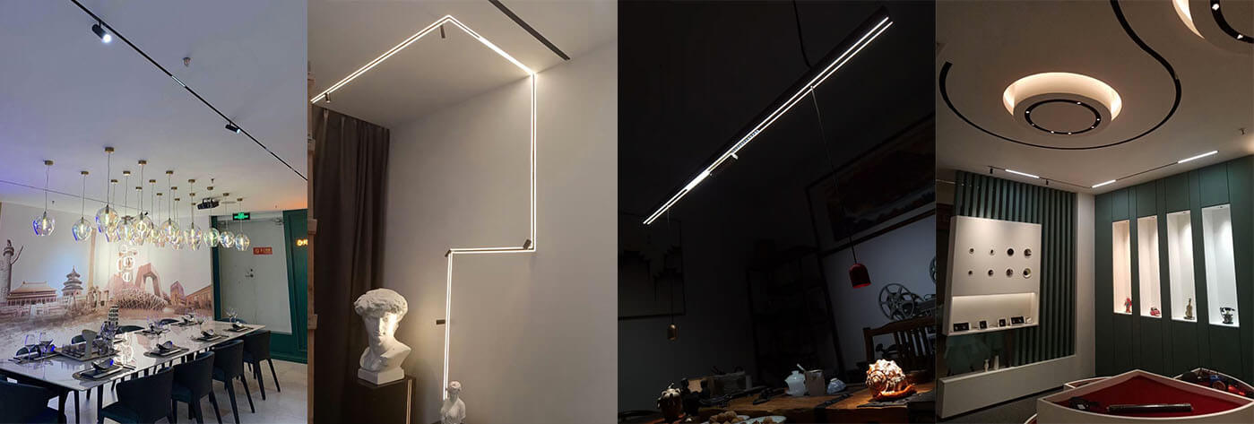 manyetik aydınlatma sistemi Çin tedarikçisi 48v 24v DALI