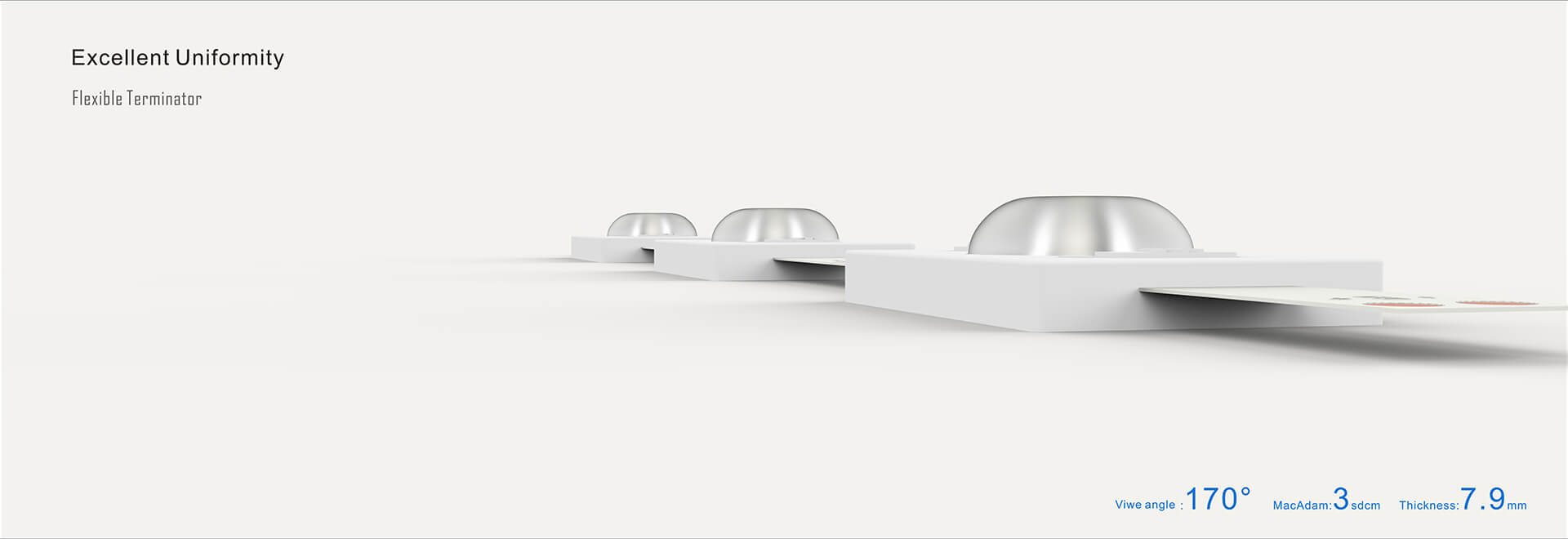 excellent uniformity flexible terminator - Large Scale Luminous Ceiling