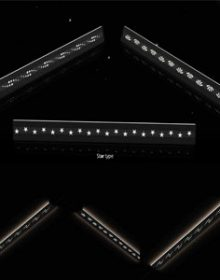 24v magnetic lineaer light china factory