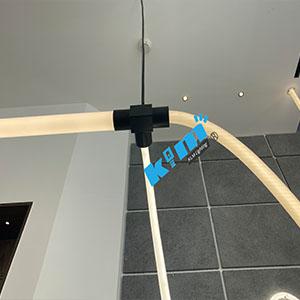 360° LED Vertical Tube Light 3 connector